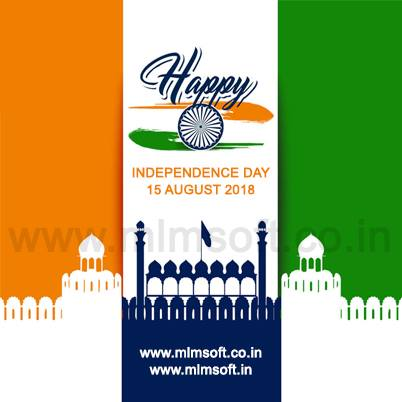Wish you a Happy Independence Day of India.