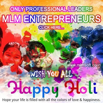 Happy Holi Form MLM Soft