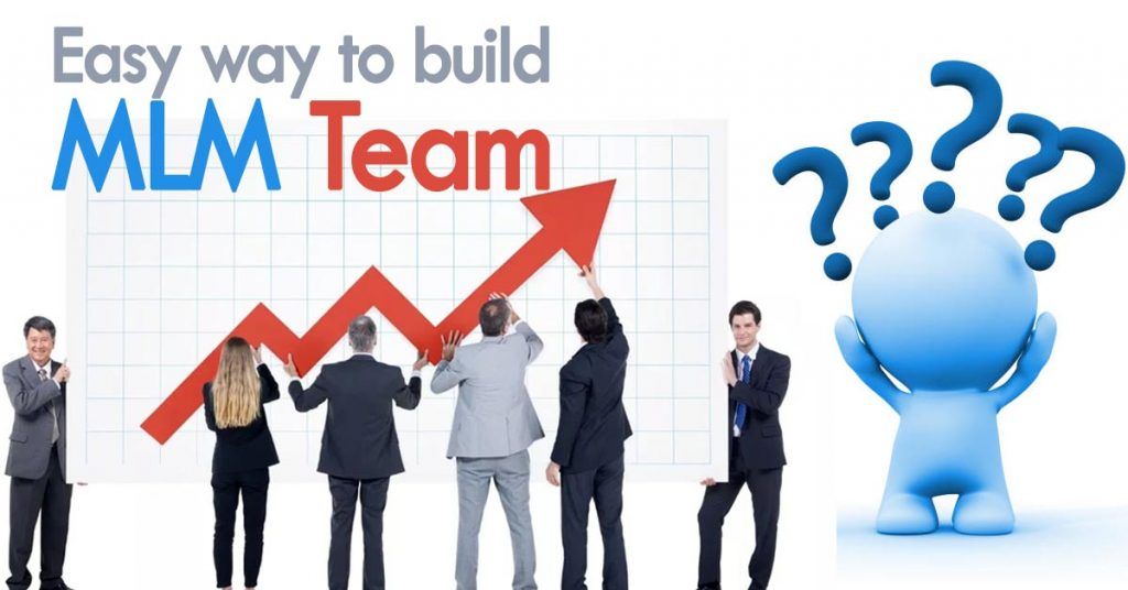 How to grow a large team for MLM business