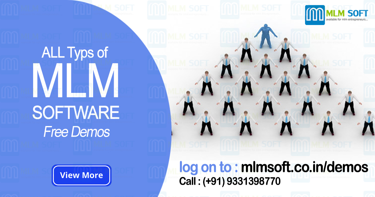 Free MLM or Network Marketing Software Demos in India